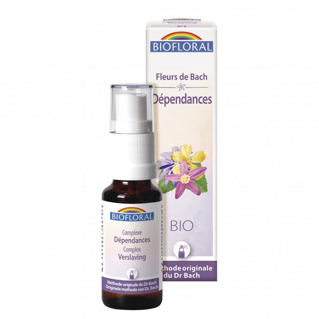 Complexe 01- Dépendance - spray - 20 ml | Biofloral