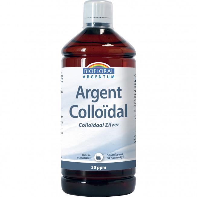 Argent Colloïdal 20 ppm, naturel - 1 L | Biofloral