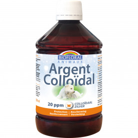 Colloidal Silver ANIMALS 20 PPM natural   Biofloral