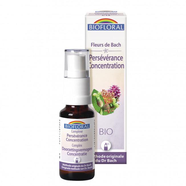 Complexe 13 - Persévérance, Concentration, spray - 20 ml   Biofloral