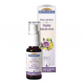Complexe 2 - Vitalité - joie de vivre - spray - 20 ml | Biofloral