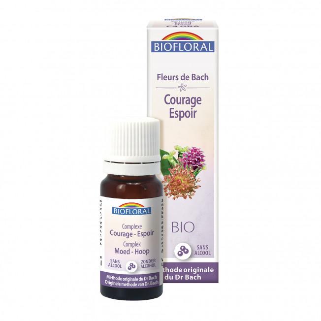 Complexe 4 - Courage, espoir, granules - 10 ml | Biofloral
