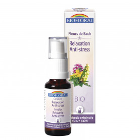 Complexe 9 - Anti-stress - Relaxation - spray - 20 ml | Biofloral