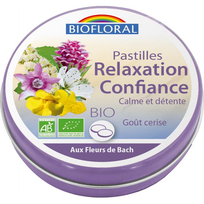 Pastilles Relaxation Confiance, boite familiale - 50 g | Biofloral