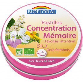Concentration Memory Lozenges, family box | Biofloral