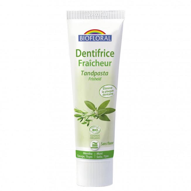 Dentifrice fraîcheur - 100 g   Biofloral
