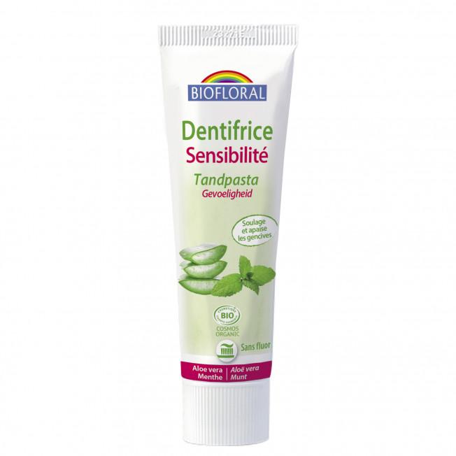 Dentifrice sensibilité - 100 g   Biofloral