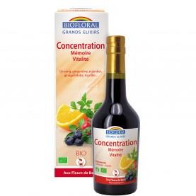 Elixir Concentration, Mémoire, Vitalité (Automne) - 375 ml | Biofloral