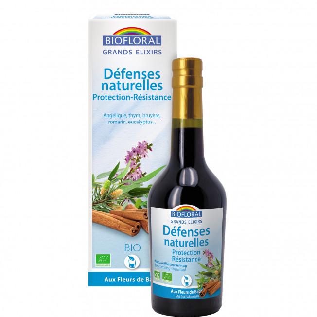 Elixir Défenses naturelles, Protection, Résistance (Hiver) - 375 ml   Biofloral