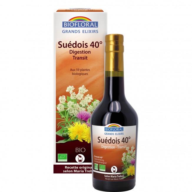 Elixir du Suédois Bio 40° - 375 ml | Biofloral