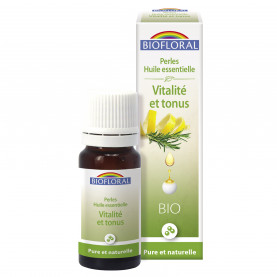 Perles essentielles, Complexe Vitalité et Tonus - 20 ml | Biofloral