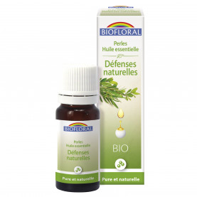Perles essentielles, Complexe Défenses naturelles - 20 ml | Biofloral