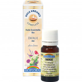 Huile ambiance energie - 10 ml | Biofloral