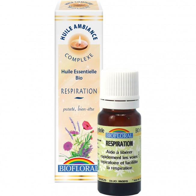 Huile ambiance respiration - 10 ml   Biofloral