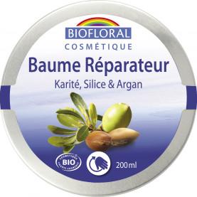 Repairing Balm Shea butter, Silica & Argan, COSMEBIO* - pot 200 ml | Biofloral