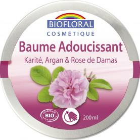 Softening Balm Shea butter, Argan & Damascus Rose, COSMEBIO* - pot 200 ml | Biofloral
