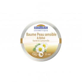 Sensitive Skin Balm Shea butter & Chamomille, COSMEBIO* - pot 35 ml | Biofloral