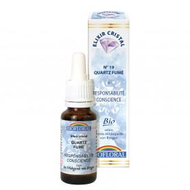Quartz fumé, Responsabilité - 20 ml | Biofloral