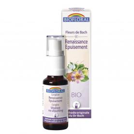 Complex 18 - Rebirth Exhaustion, spray ORGANIC DEMETER - 20 ml | Biofloral
