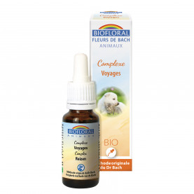 Complexe Voyages ANIMAUX - 20 ml | Biofloral