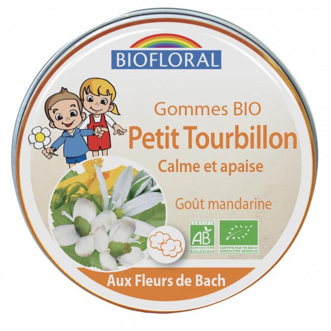 Gommes enfants Petit Tourbillon - 45 g | Biofloral