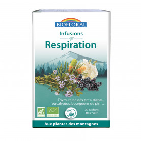 Infusion Respiration BIO - boîte x20 - x 20 g | Biofloral