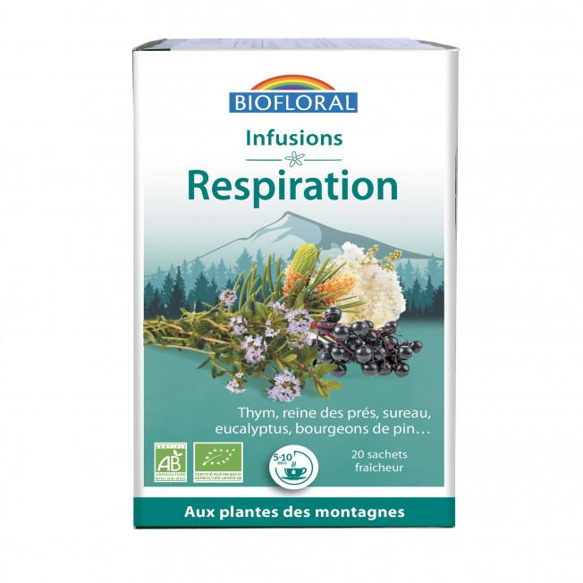 Infusion Respiration BIO - boîte x20 - x 20 g   Biofloral