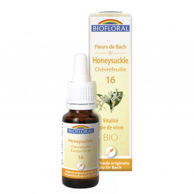16 - Honeysuckle - Chèvrefeuille - 20 ml | Biofloral