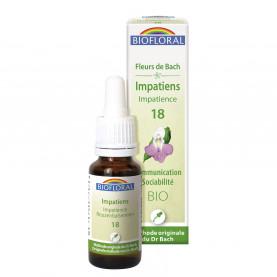 18 - Impatiens - Impatience - 20 ml | Biofloral