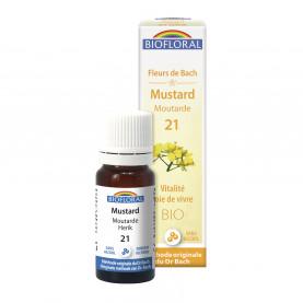 Moutarde-Mustard, granules - 10 ml | Biofloral