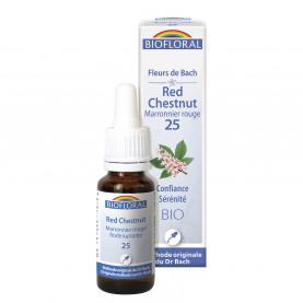 25 - Red chestnut - Marronier rouge - 20 ml | Biofloral