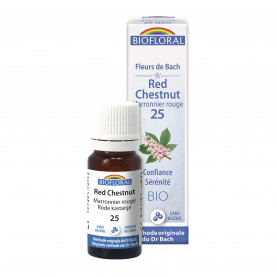 Marronier rouge-Red Chestnut, granules - 10 ml | Biofloral