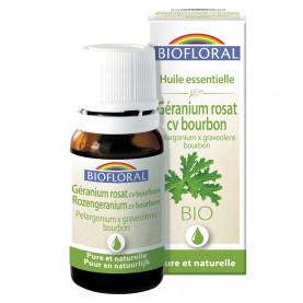 Géranium rosat cv bourbon - 10 ml | Biofloral