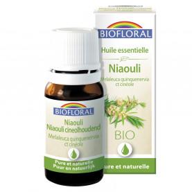 """EO Niaouli  (Melaleuca quinquenervia\nct cineole) ORGANIC - 10 mL"" | Biofloral"