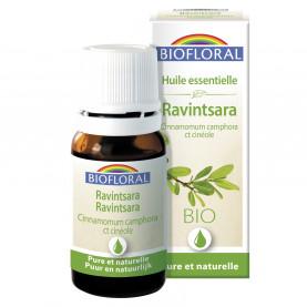 EO Ravintsara(Cinnamomum camphora ct cinéole) ORGANIC - 10 mL   Biofloral