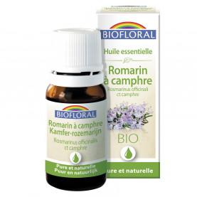 EO Rosemary ct campher (Rosmarinus officinalis ct camphre) ORGANIC - 10 mL   Biofloral
