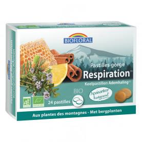 Pastilles Gorge - 24 pastilles | Biofloral